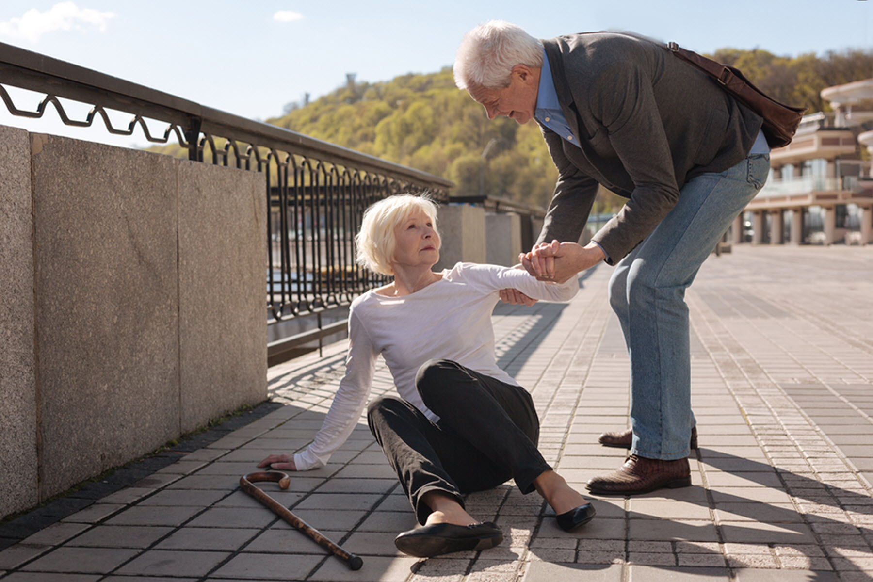 Homecare in Tolleson AZ: How to Get Up If They Fall