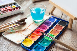 Homecare in Glendale AZ: Painting to De-Stress