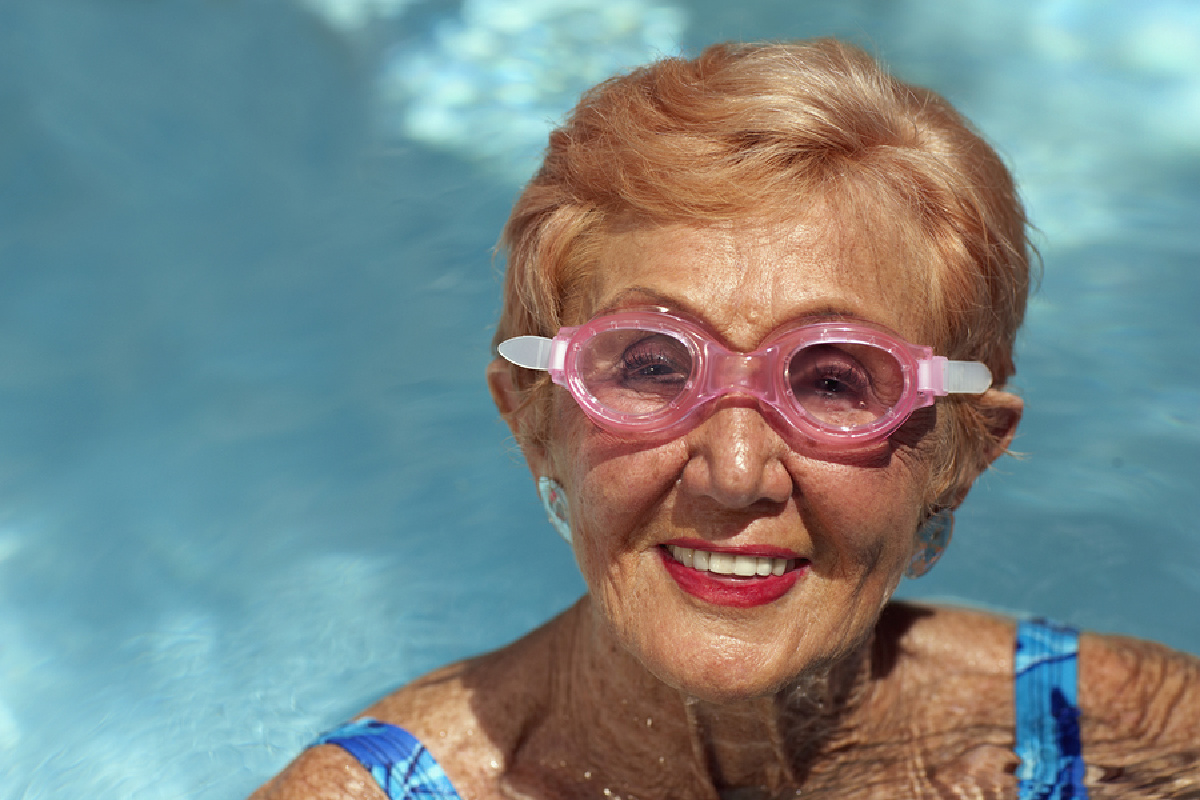 Elderly Care in Peoria AZ: Swimming Exercise